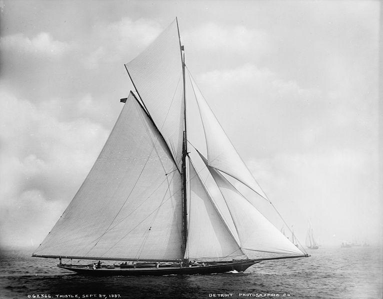 Meteor I Yacht ex Thistle