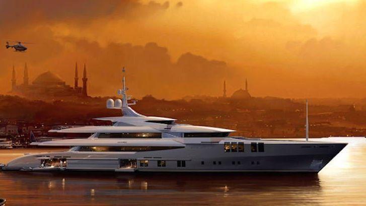Skyfall Yacht John Staluppi Sunrise Yachts