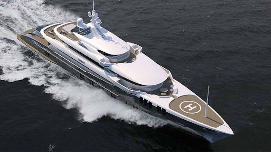 Skyfall Yacht John Staluppi Özgün Yacht Design