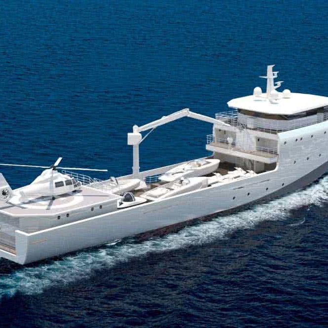 Support Vessel Van Geest Design