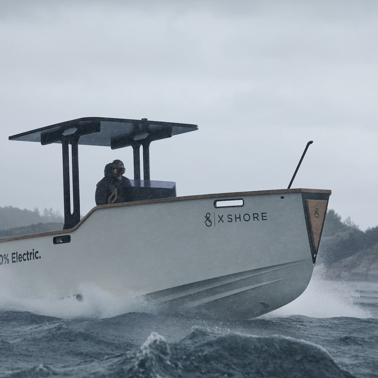 X Shore Eelex 8000 Electric Boat Konrad Bergström