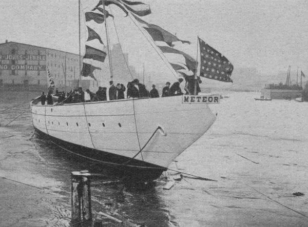 Meteor III Yacht