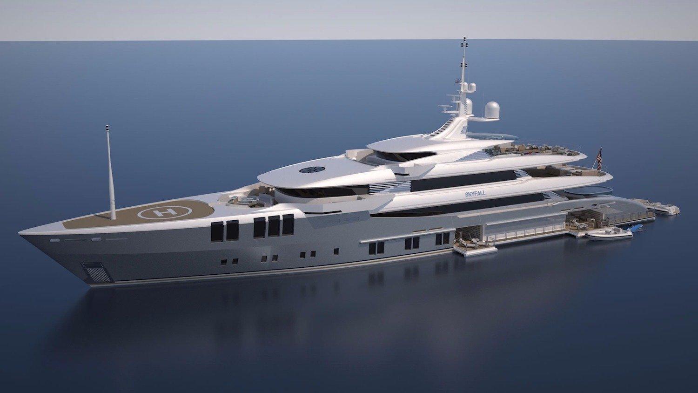 Skyfall Yacht John Staluppi