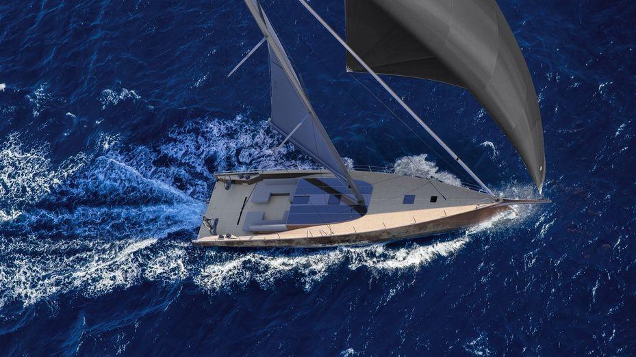 Baltic 68 cafe racer sailing yacht
