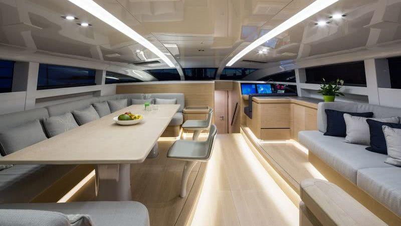 WinWin Yacht Interior