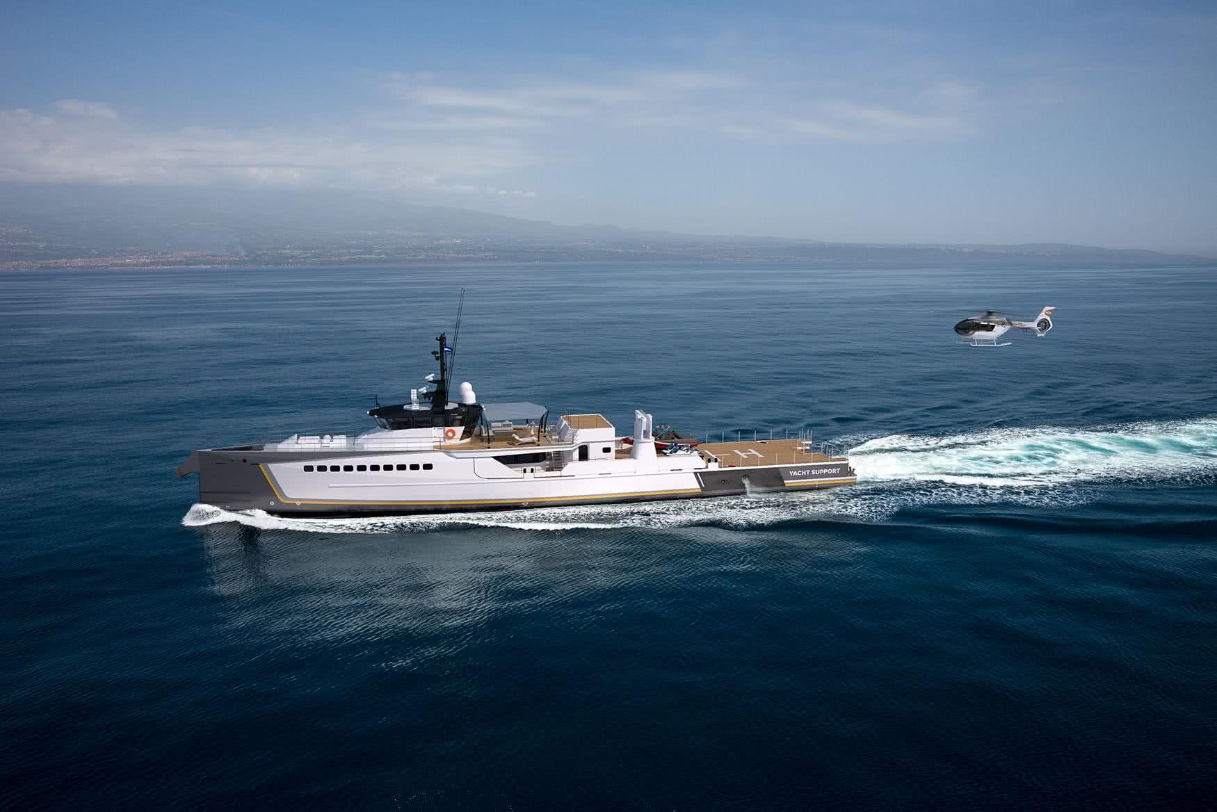 Blue Ocean Damen Yacht Support