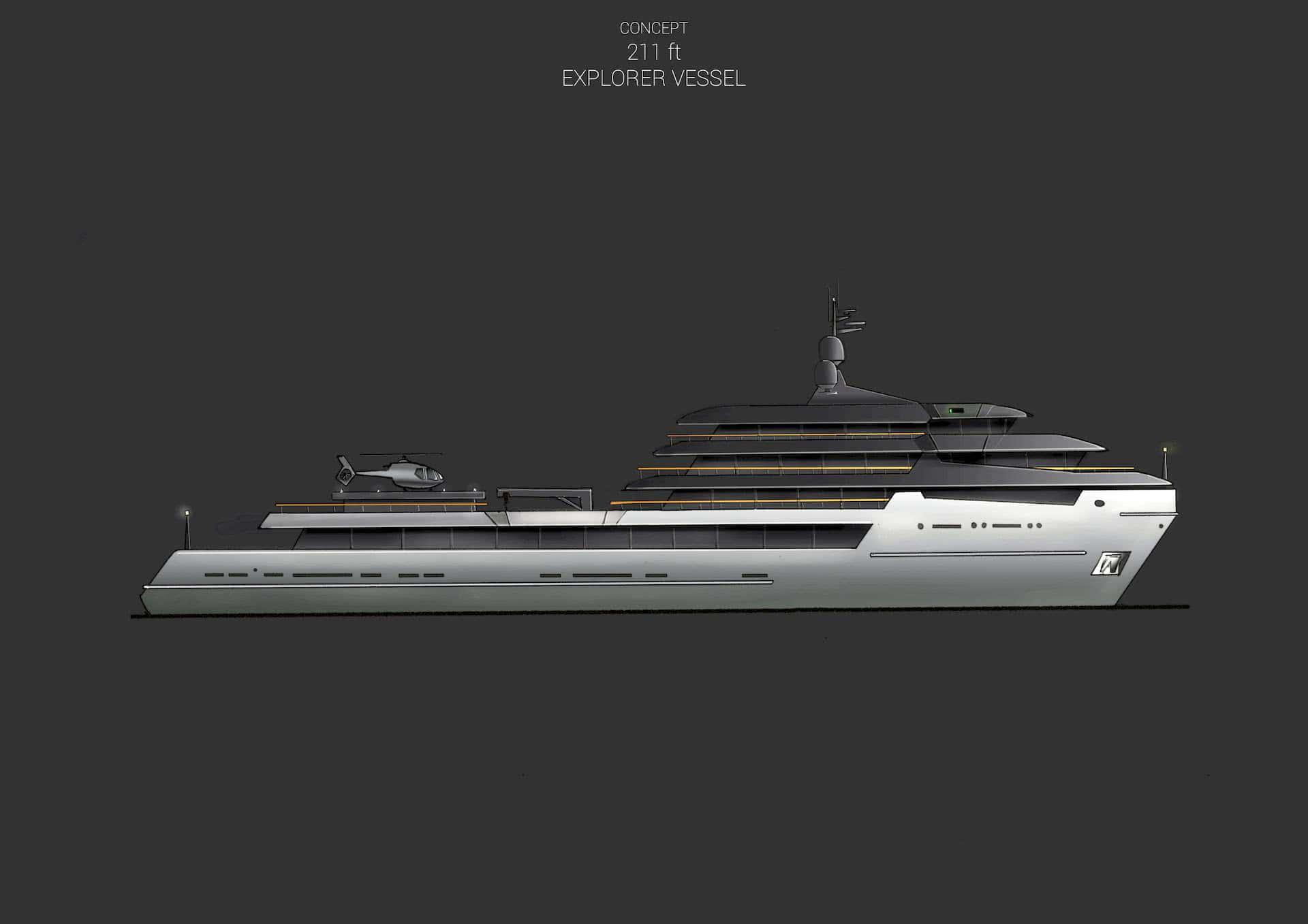 Explorer Yacht Conversion Design Anna Borla