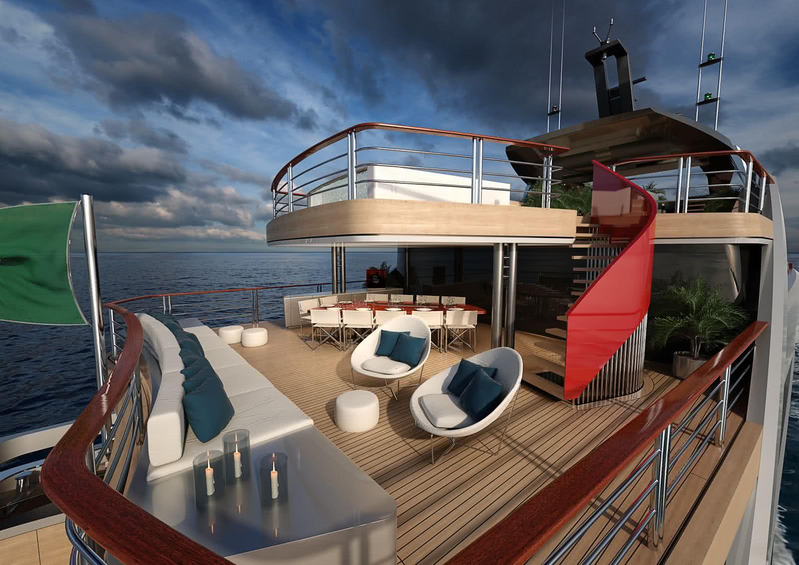 Gravity Yacht Luca Vallebona