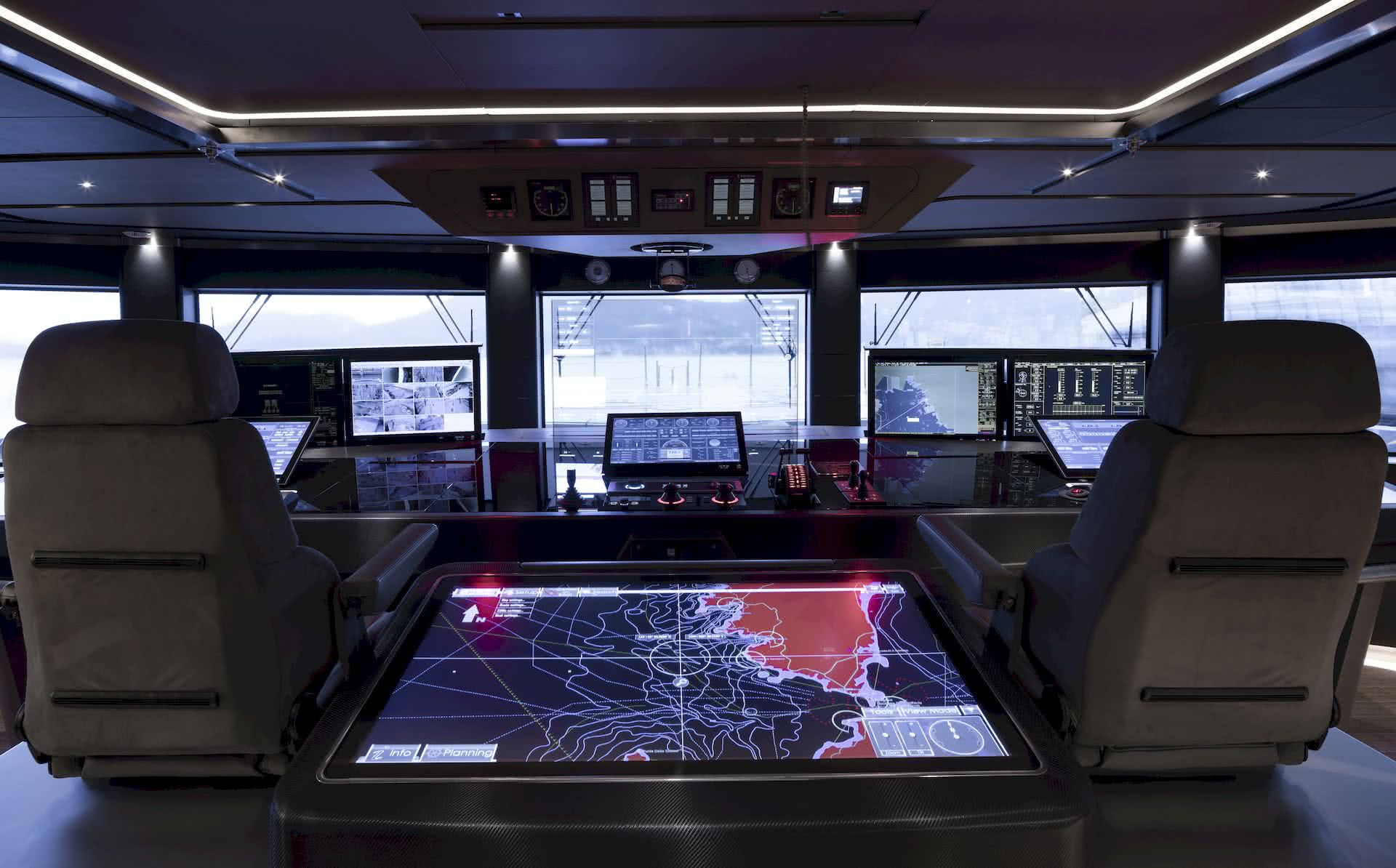 Head-up Display Yacht Ship Team Italia