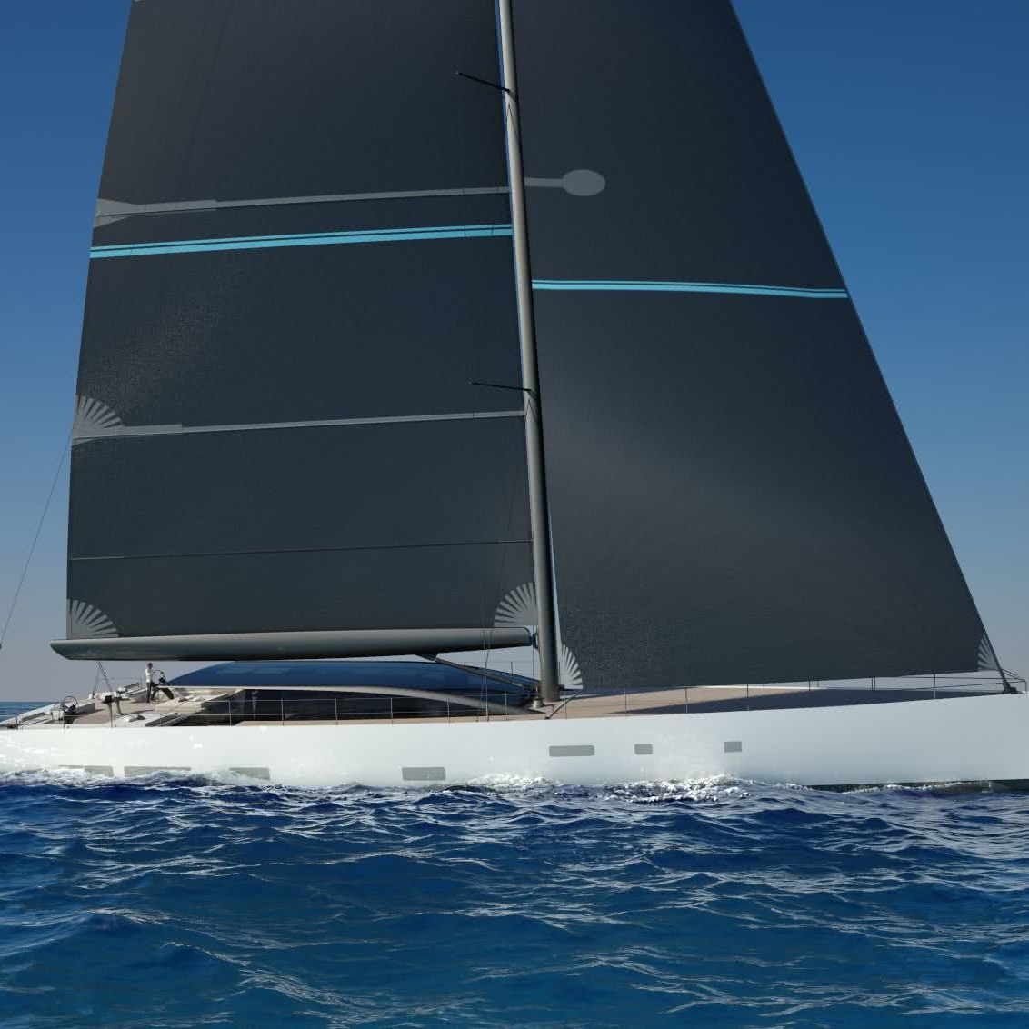 Perini Navi 42m E-Volution GTS Sailing Yacht