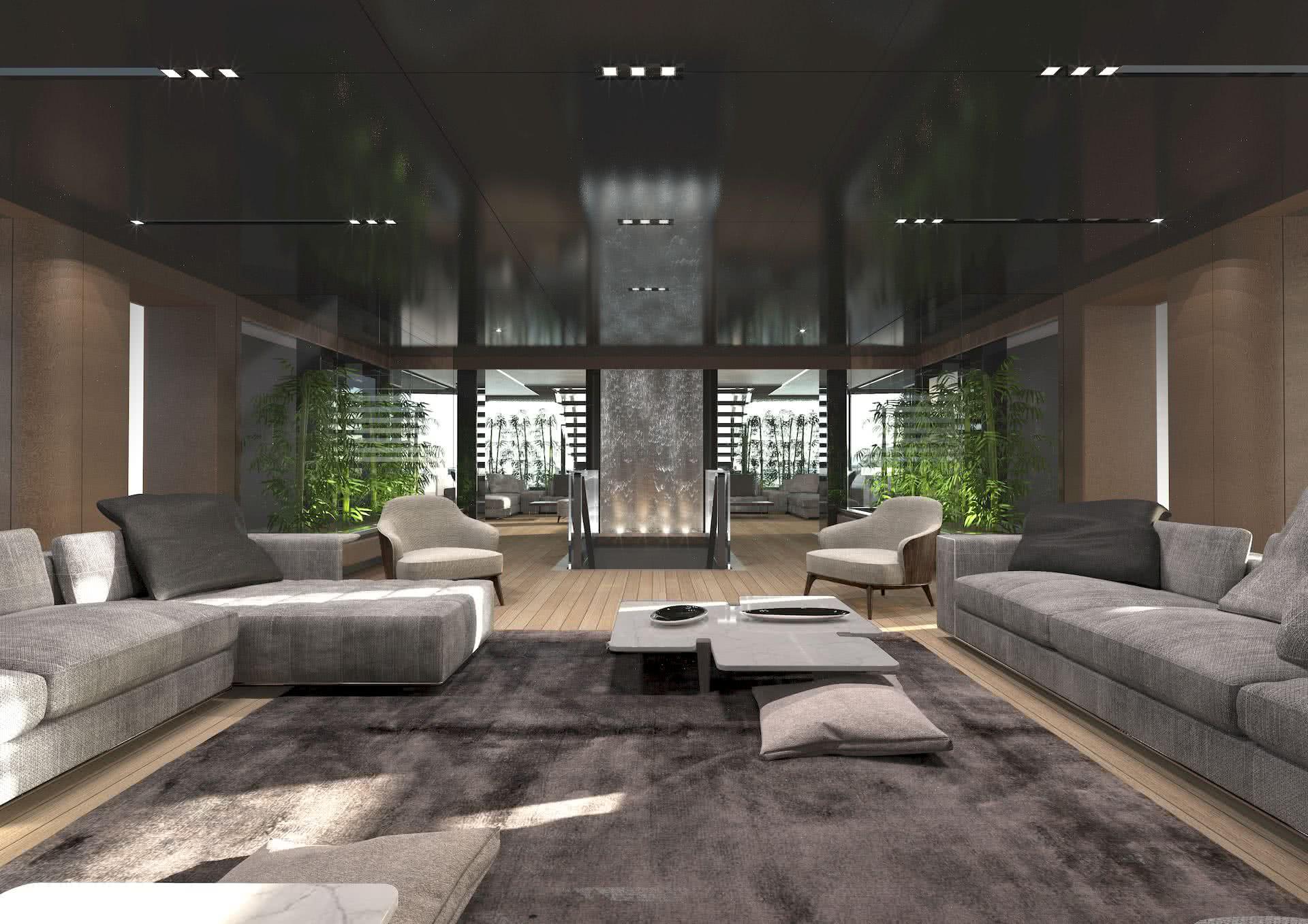 Perini Navi 75m Heritage Interior Design