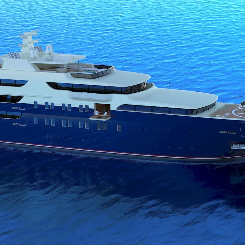 83m Yacht camdesign Camillo De Gaspari