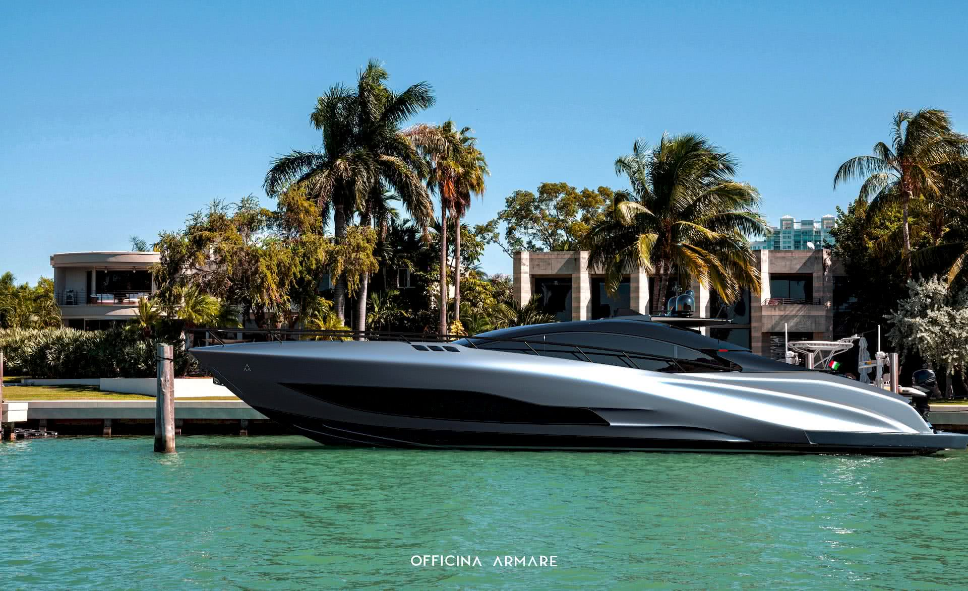 A88 GranSport Yacht Officina Armare