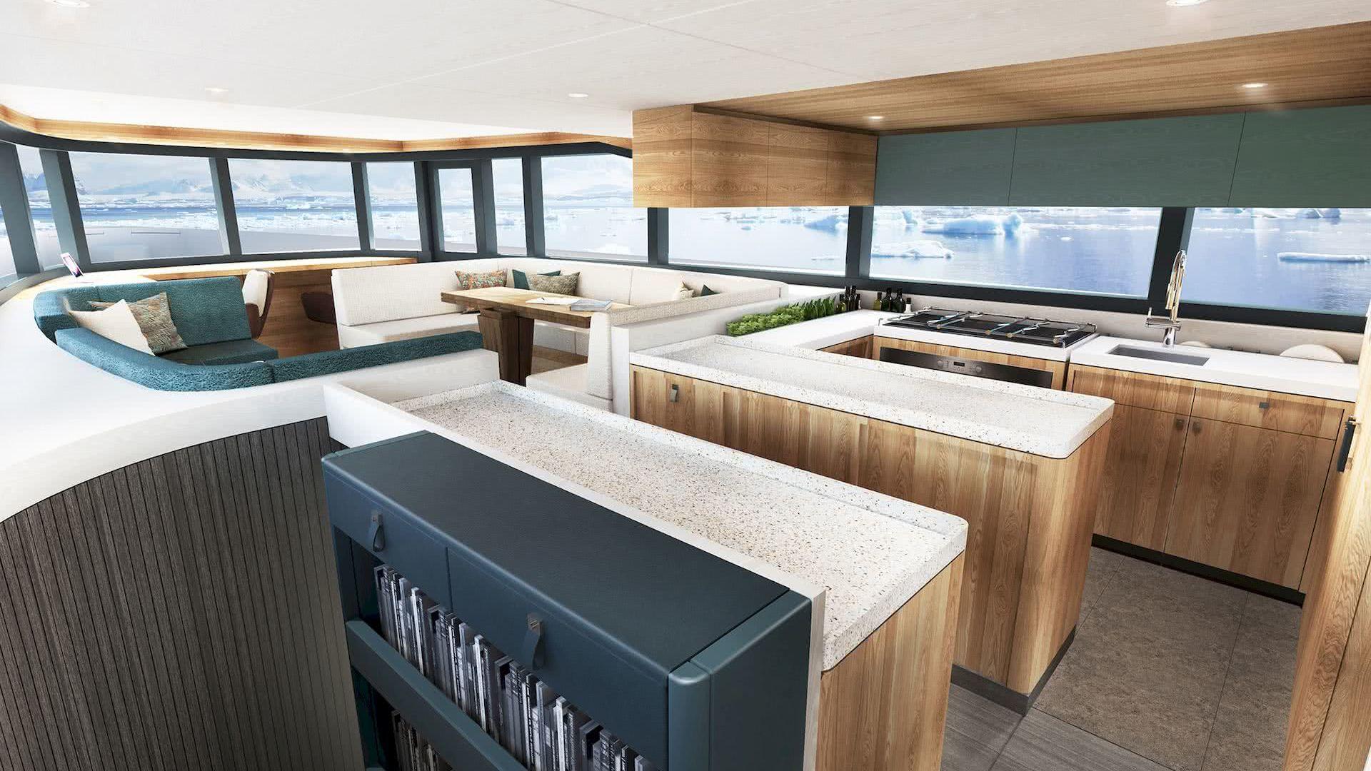 Arksen 85 Yacht Interior