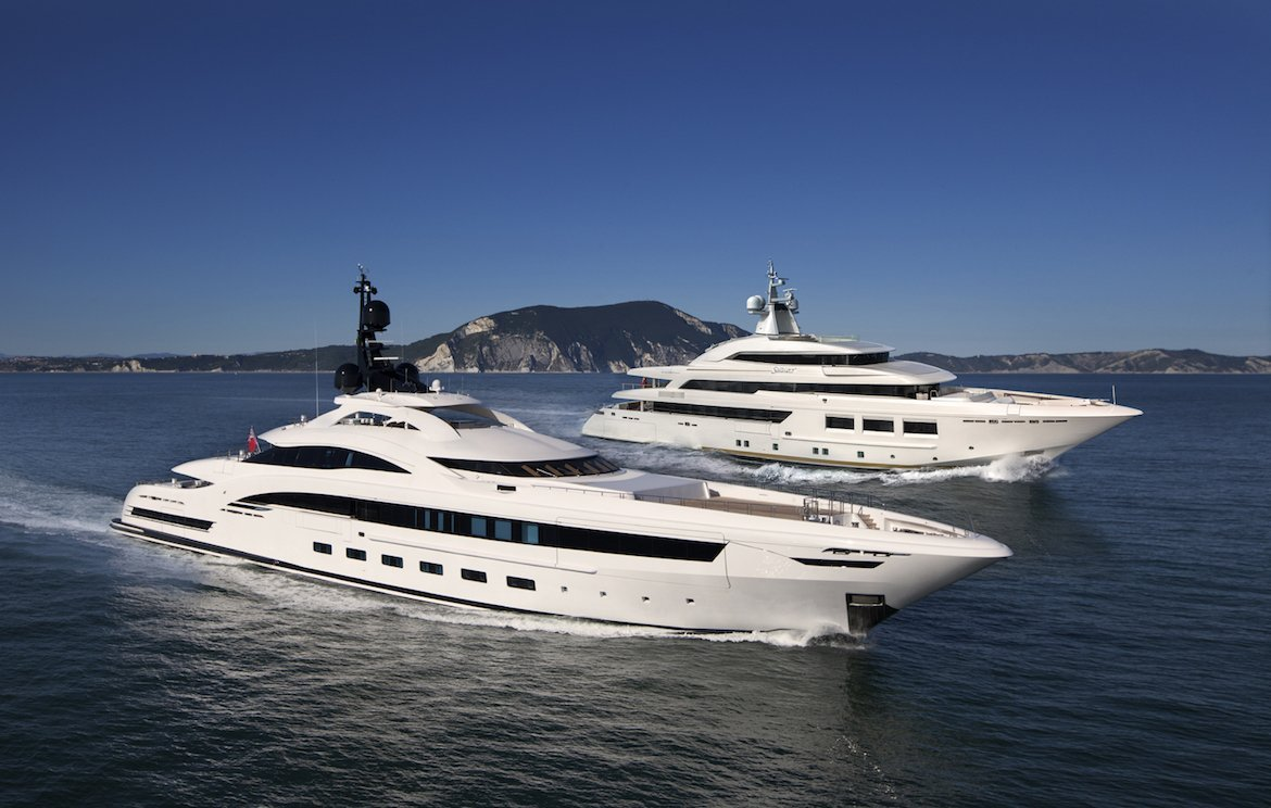 SARAMOUR and YALLA by CRN Yachts