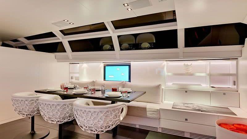 Chrisco Yacht Interior