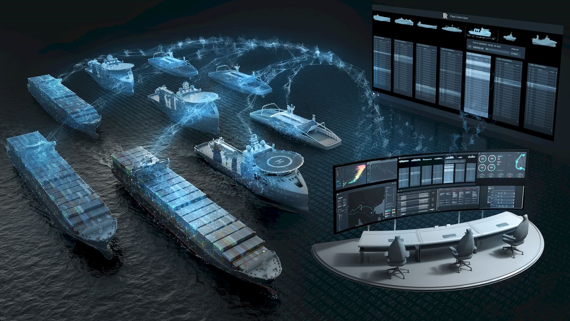 Equipment & Health monitoring for Ships and Yachts