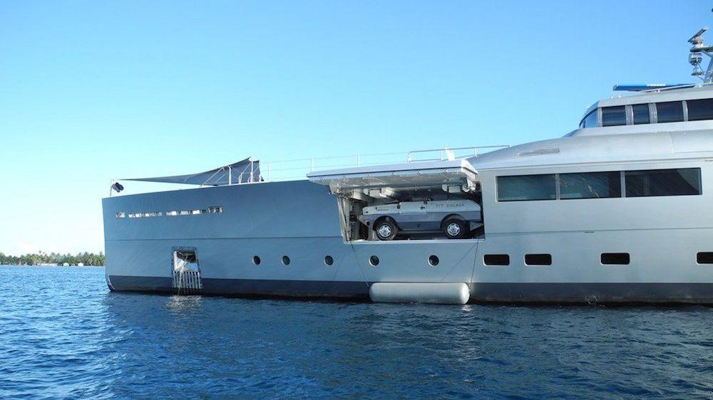 Exuma Yacht Tender Garage
