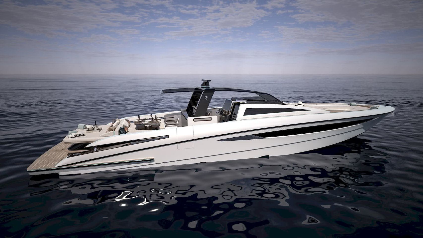 F16 Center Console Boat SFG Yacht Design
