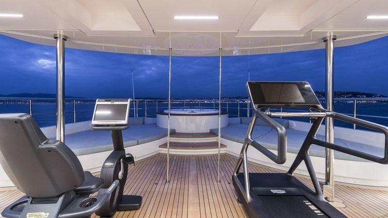 I-Nova Yacht Interior Gym