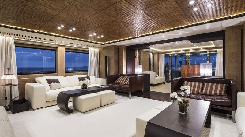 I-Nova Yacht Interior Salon