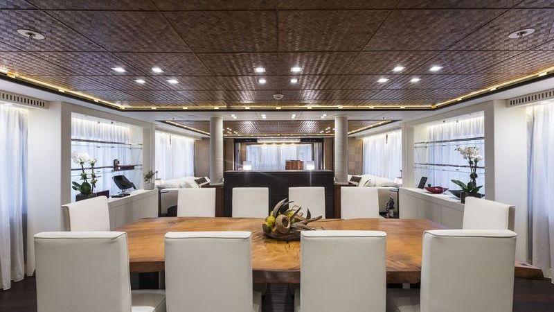 I-Nova Yacht Interior Dining