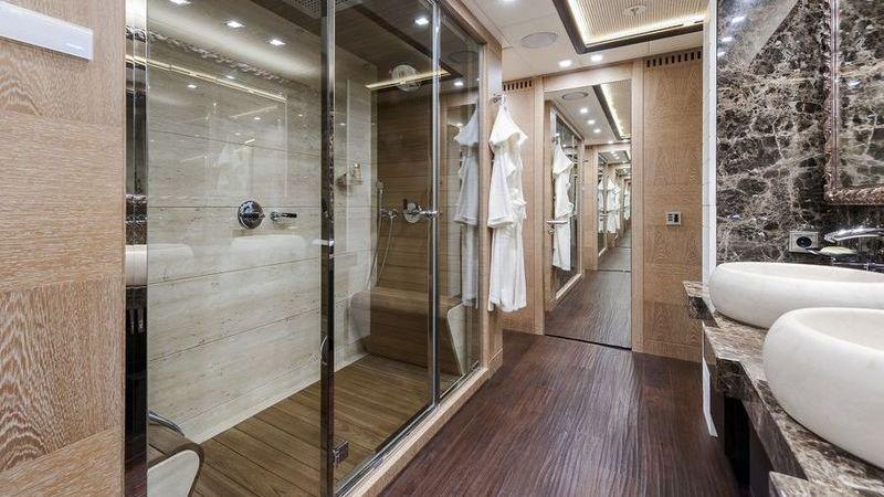 I-Nova Yacht Interior Sauna
