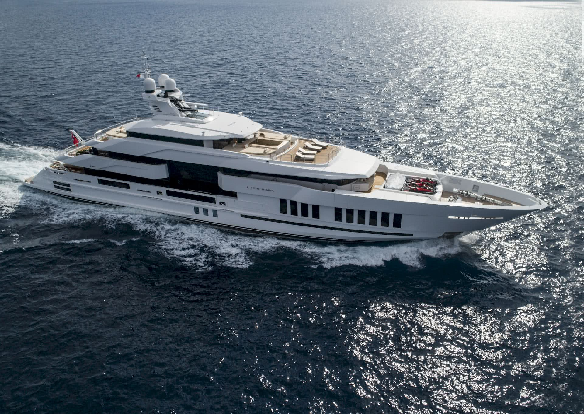 Life Saga Yacht Admiral Yachts