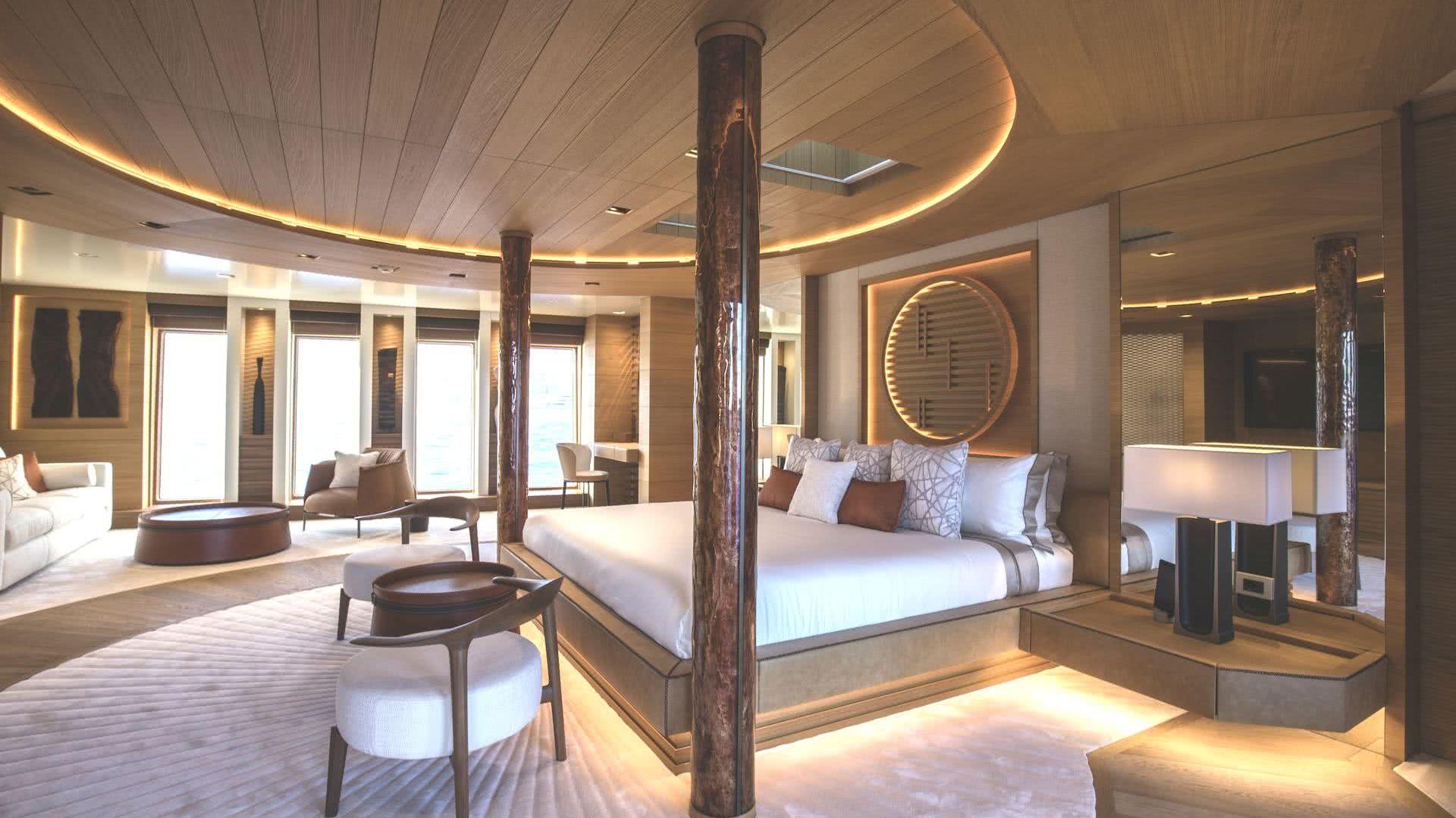 Life Saga Yacht Interior Owner Suite