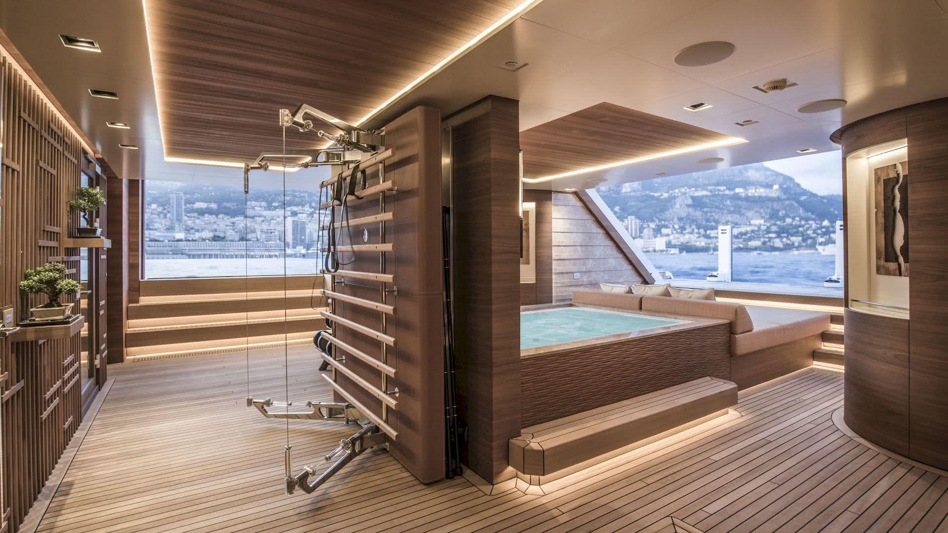 Life Saga Yacht Interior Beachclub