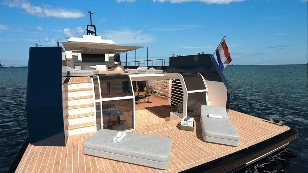Lynx YXT 34 Plus Yacht Support Vessel