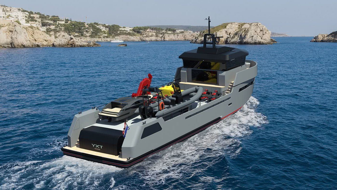 Lynx YXT 34 Sport Yacht Support Vessel
