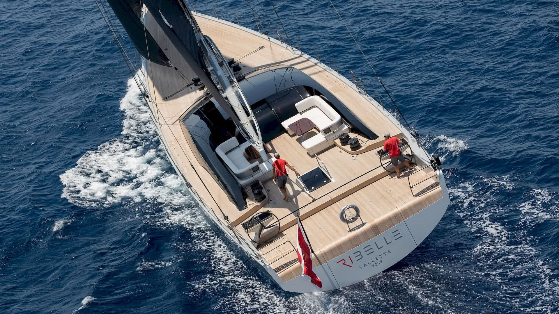 Sailing Yacht RIBELLE for sale