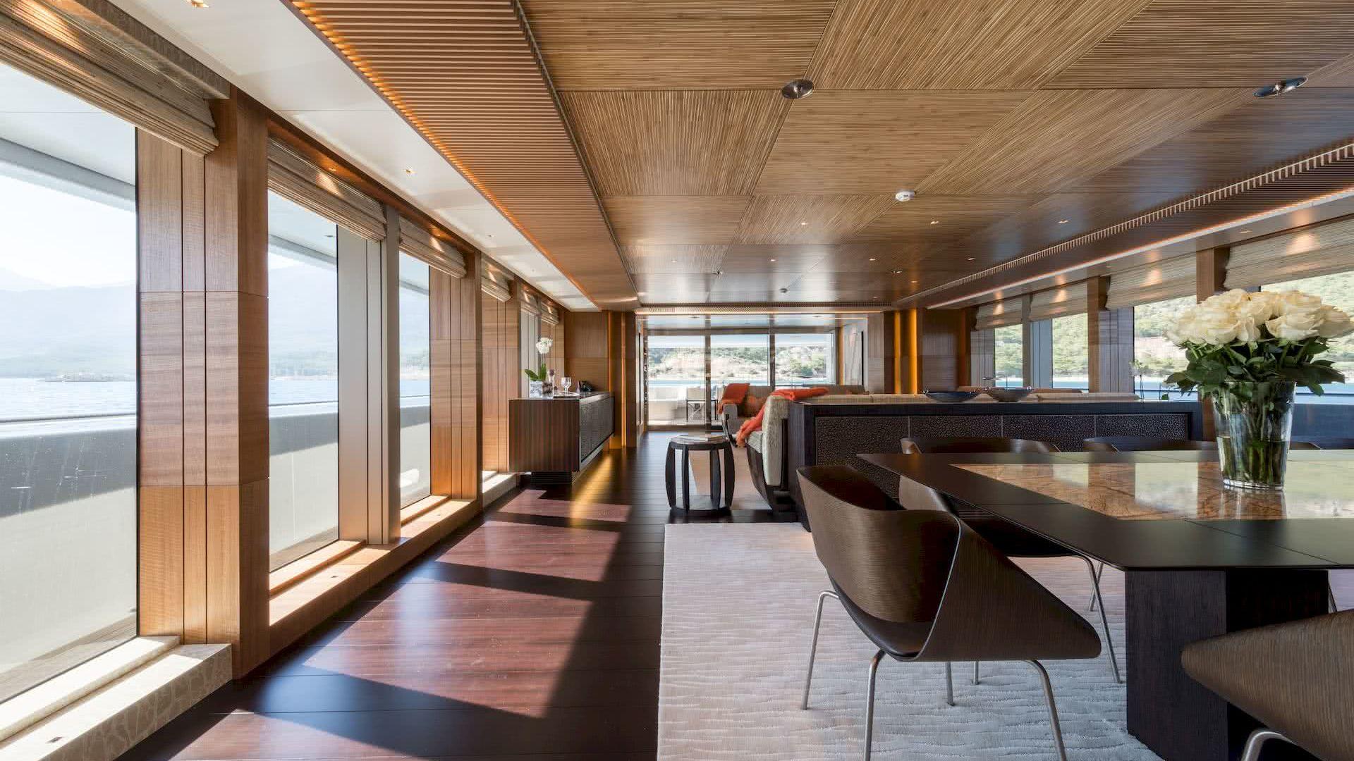 Ruya Yacht Interior
