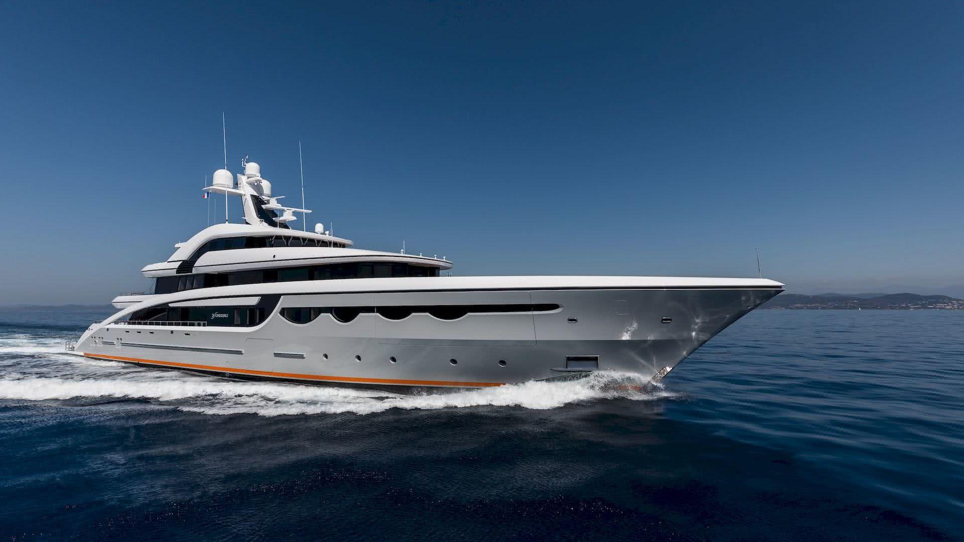 Soaring Yacht Abeking