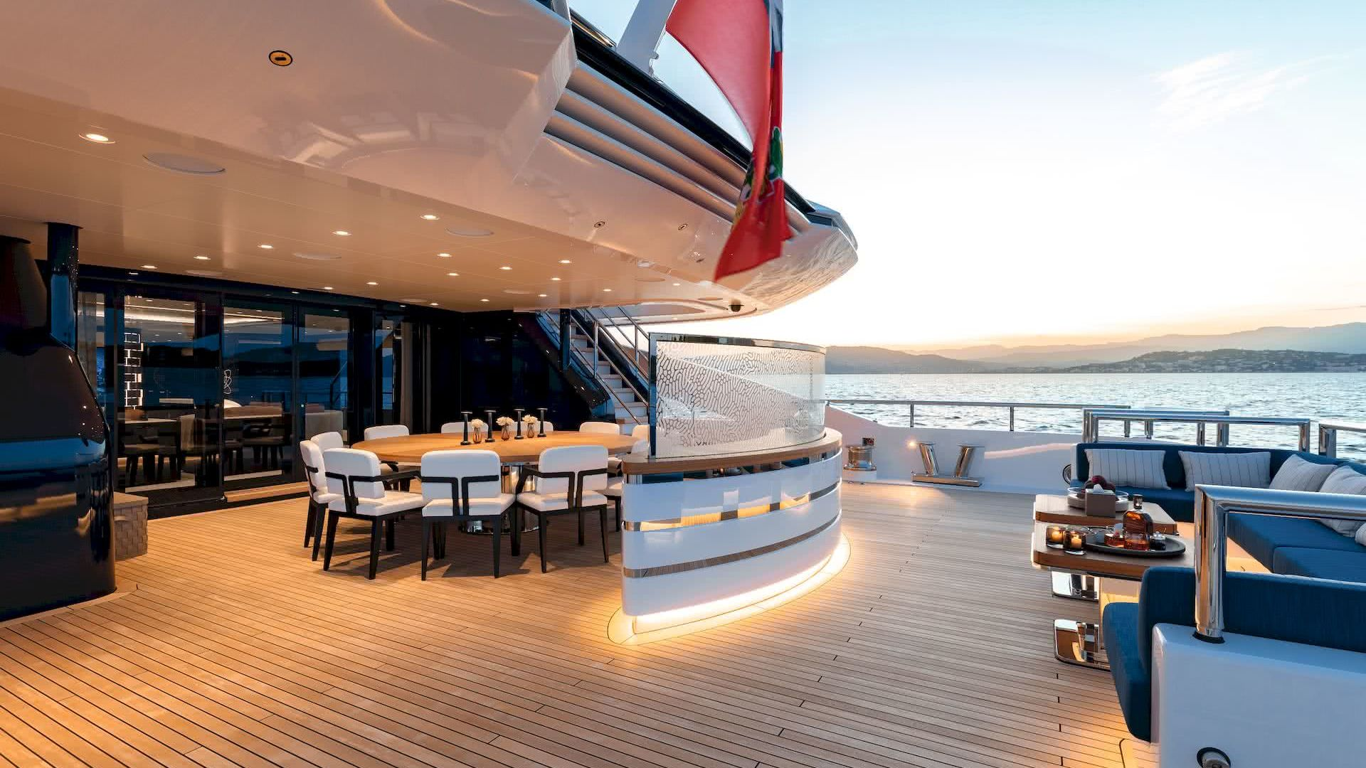 Soaring Yacht Exterior Space