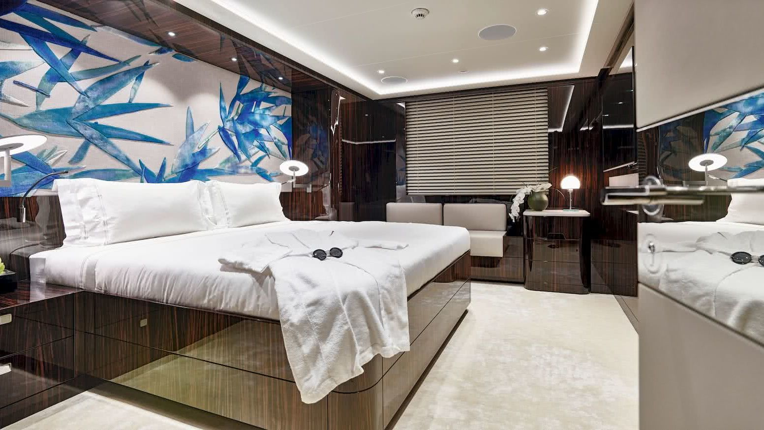 Soaring Yacht Interior Cabin