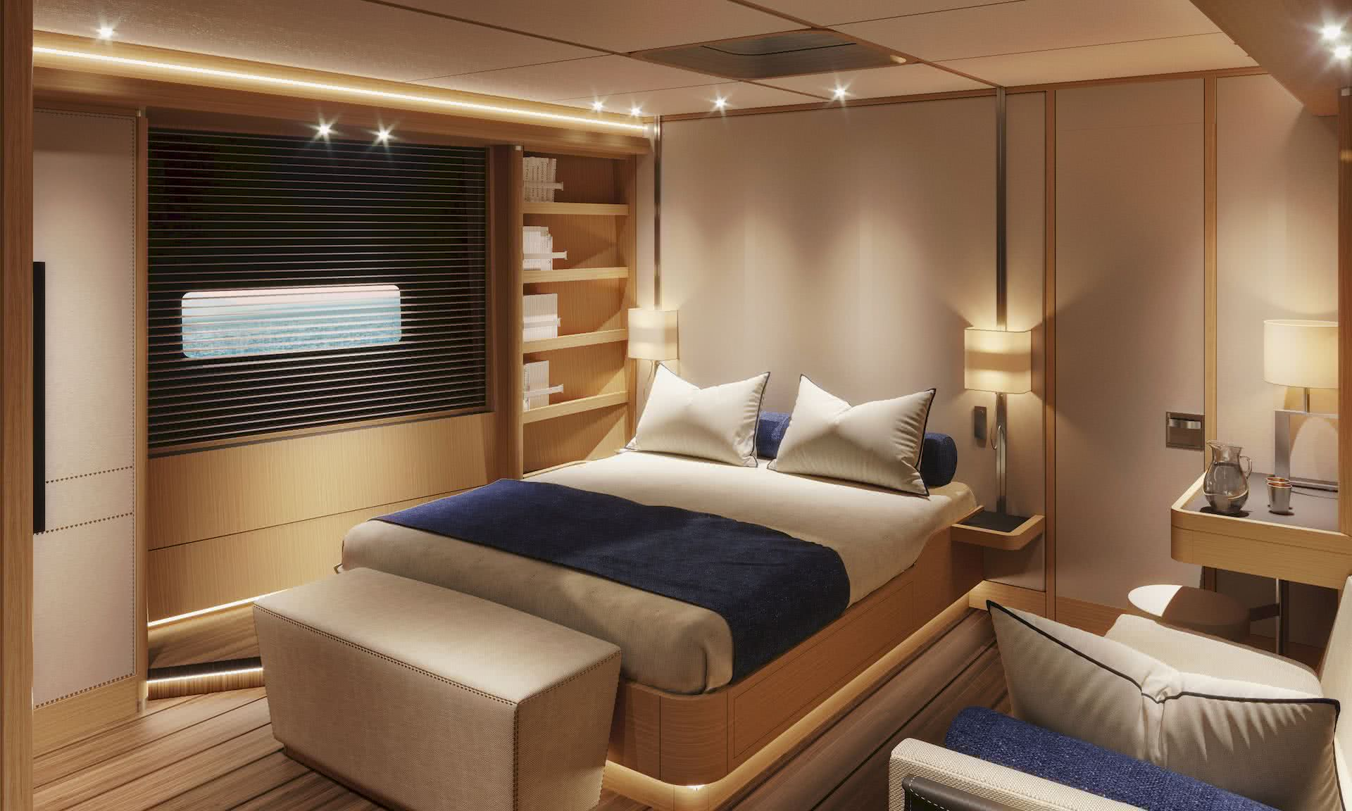 Swan 98 Interior