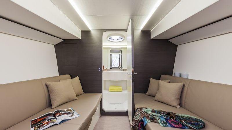 WIDER 32 Superyacht Tender Interior