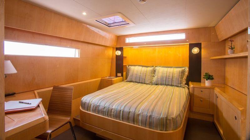 Windquest Yacht Interior