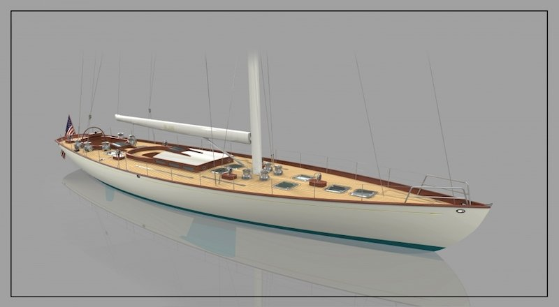 W 100 Classic Yacht W-Class Yachts Front Street Shipyard