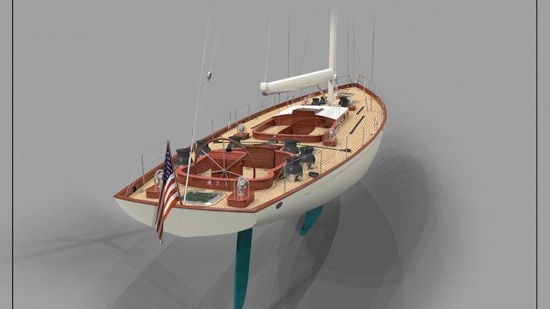 W 100 Classic Yacht Bruce Johnson