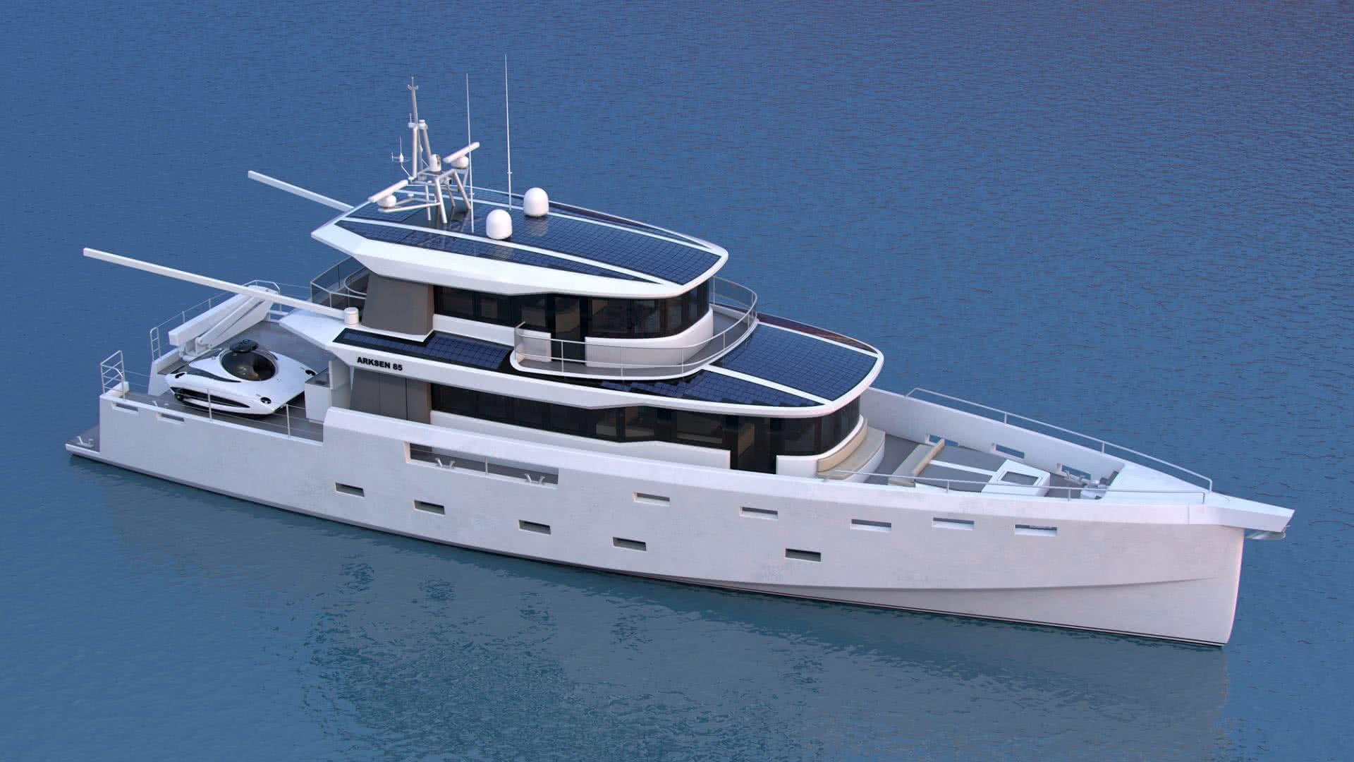 ARKSEN 85 Explorer Yacht