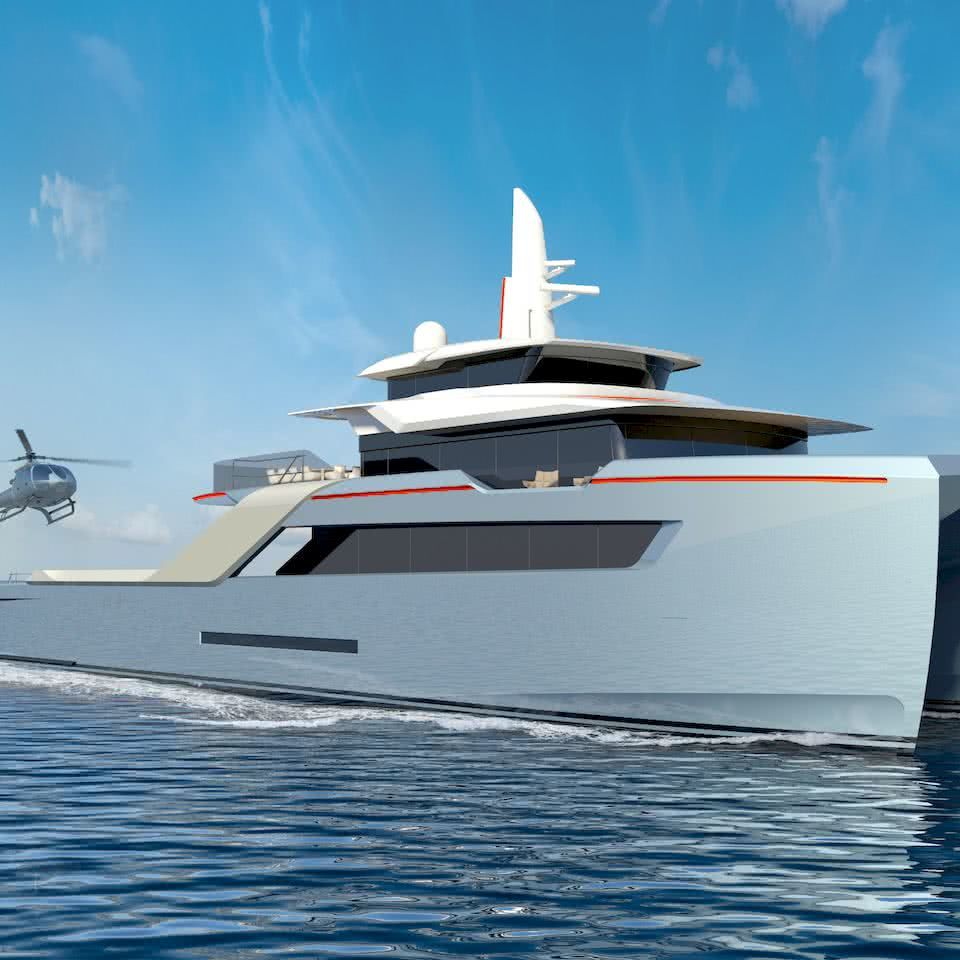 Echo Yachts Support Vessel