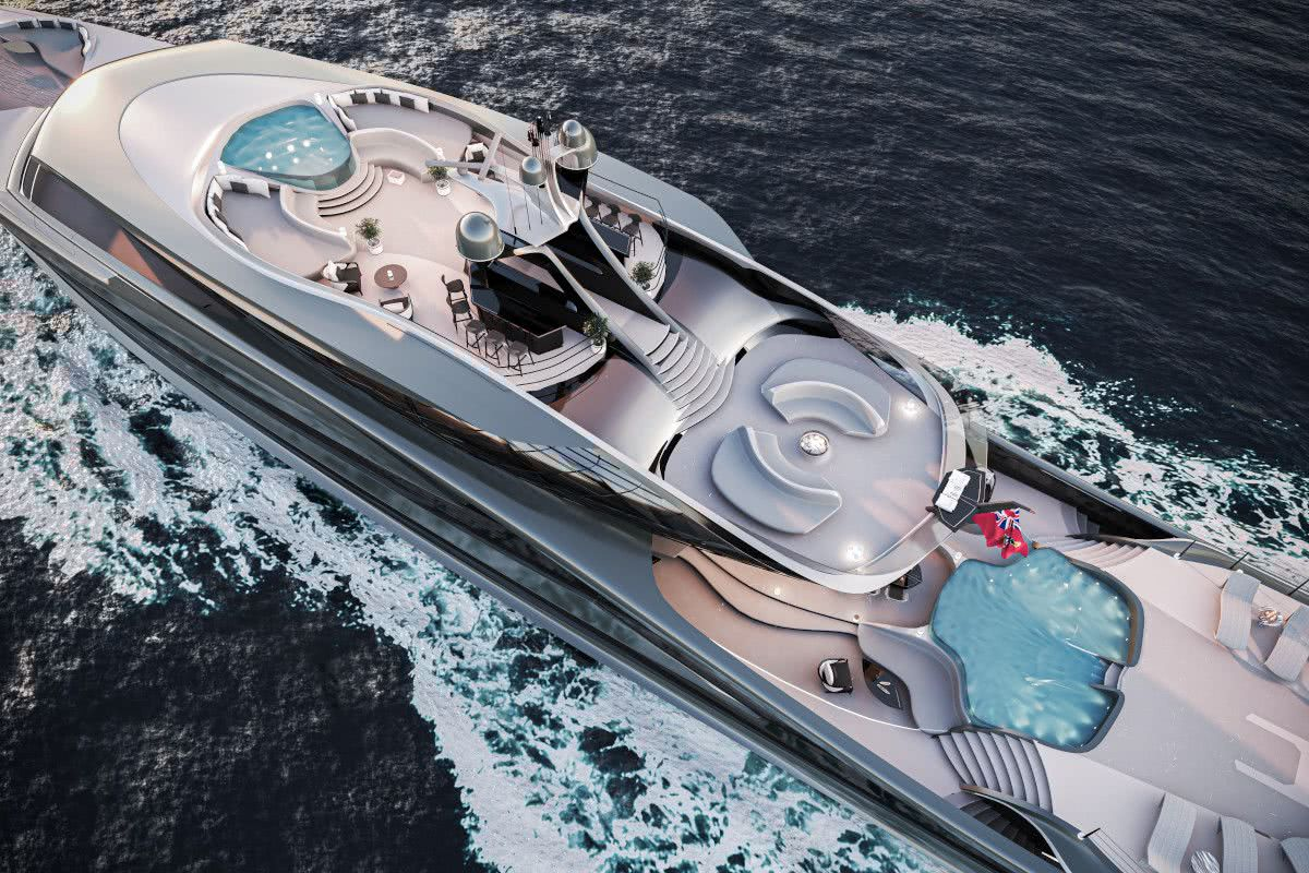 Futura Vripack fossil-free Motor Yacht