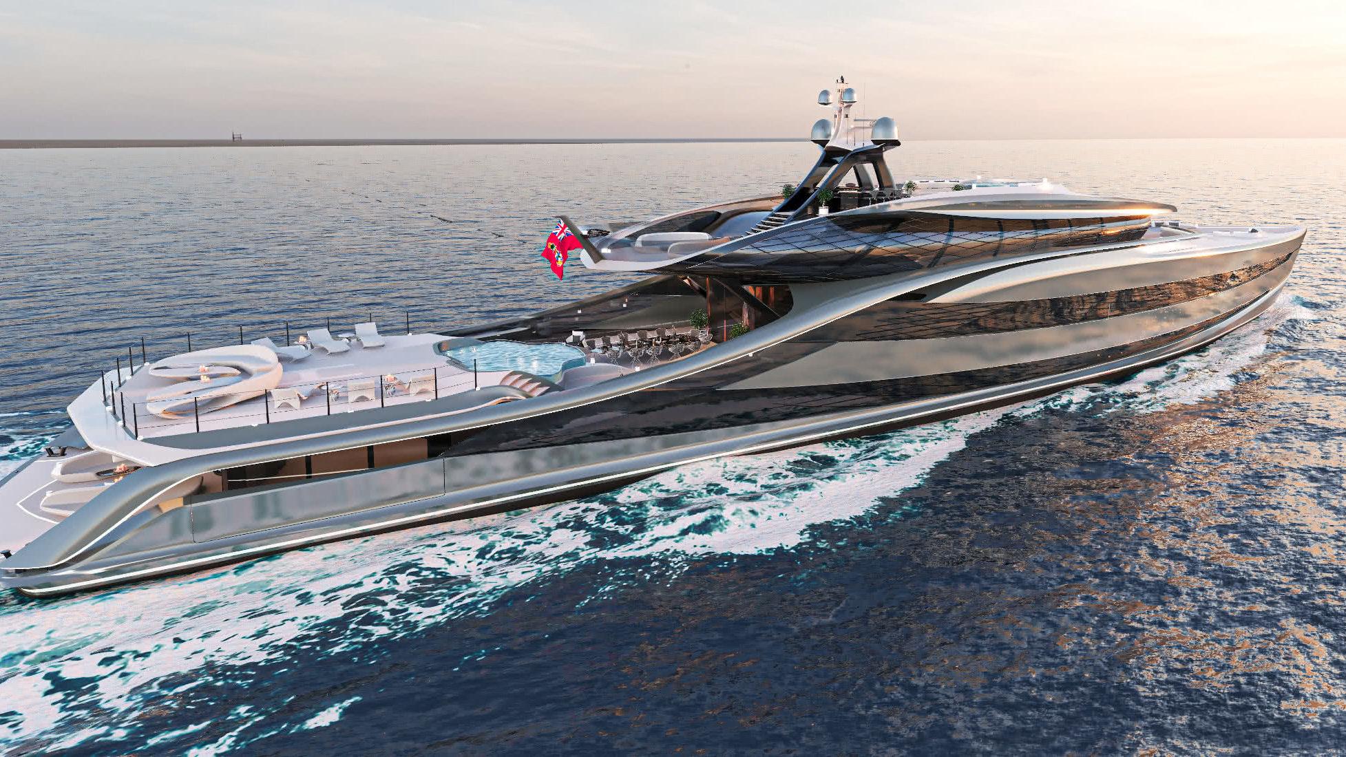 Futura fossil-free yacht Vripack