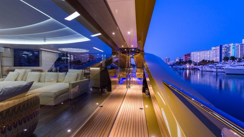 KHALILAH Yacht Interior Palmer Johnson
