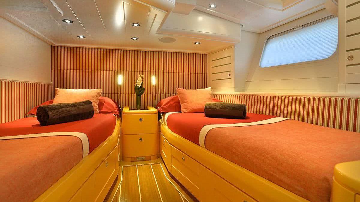 Louise Yacht Interior
