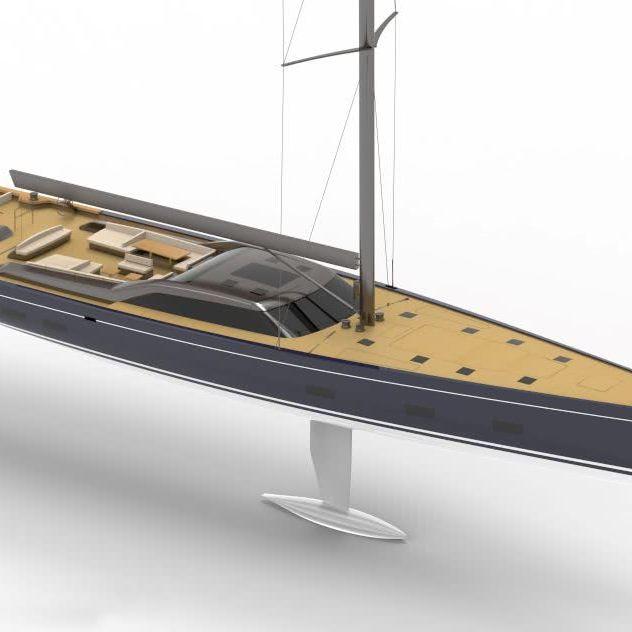 Royal Huisman Project 405 Nauta Design Reichel Pugh 151
