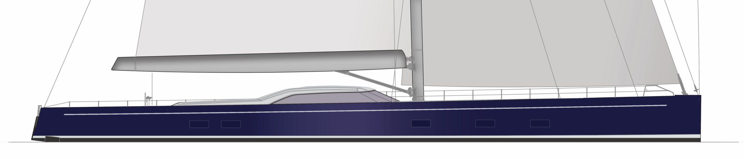 Royal Huisman Project 405 Sailing Yacht